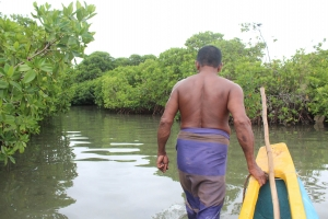 Our Fisherman showed us around