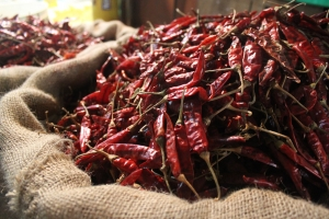 Chilli, lots and lots of chilli